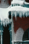 Ice Damming is mostly due to heat loss and poor ventilation.